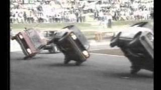 Lada 2105, Lada 2107 Combi going on 2 wheels