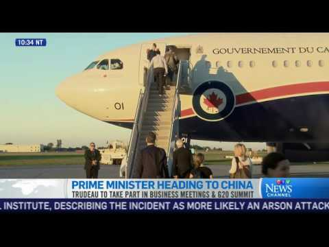 PM Trudeau heads to China for G20 Summit