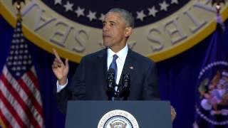 Barack Obama Farewell Speech FULL VIDEO