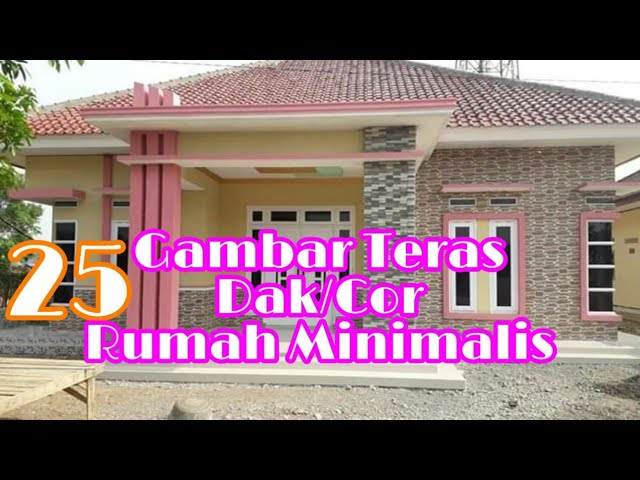 25 Gambar Teras Dak Cor Rumah Minimalis Teras Dak Rumah Minimalis Youtube