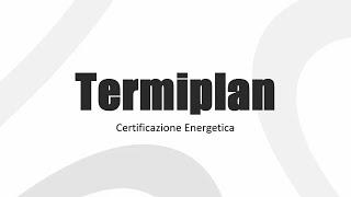 TermiPlan 2015: Assegnazione Zone Termiche
