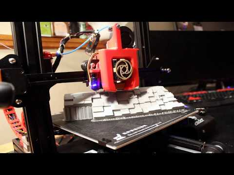3D print the Nebraska county map with time-lapse and customization.