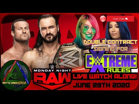 🔺WWE RAW Live Stream Watch Along & Live Chat! | 06/29/2020 Reactions & Review