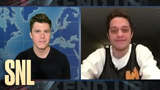 Weekend Update Home Edition: Pete Davidson on Hooking Up During Quarantine - SNL