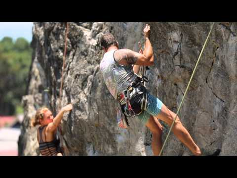 Climbing course railay