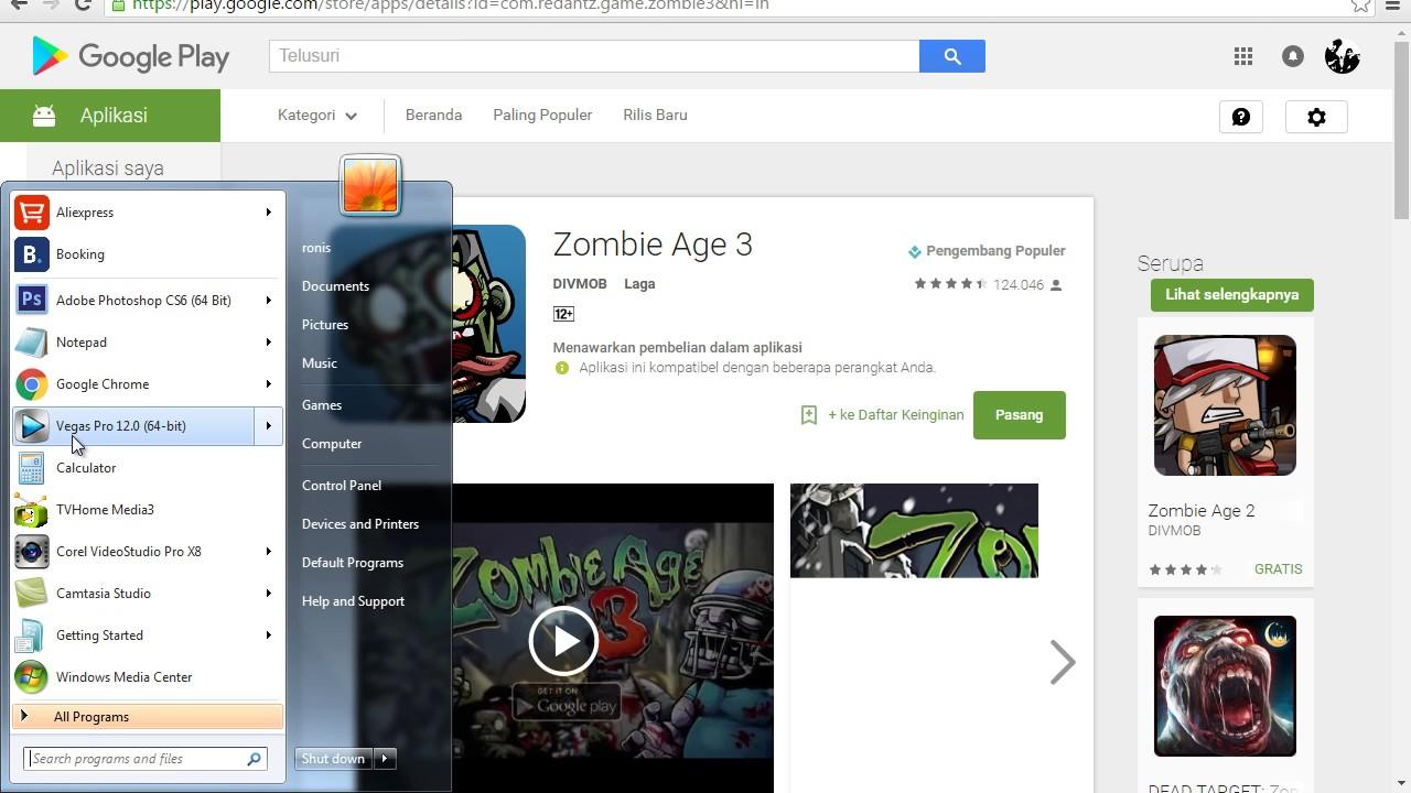 Cara Download Aplikasi & Game Dari Playstore Melalui