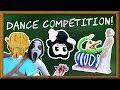 LP Movie: Dance Challenge! SLENDRINA vs GRANNY vs BALDI vs BENDY
