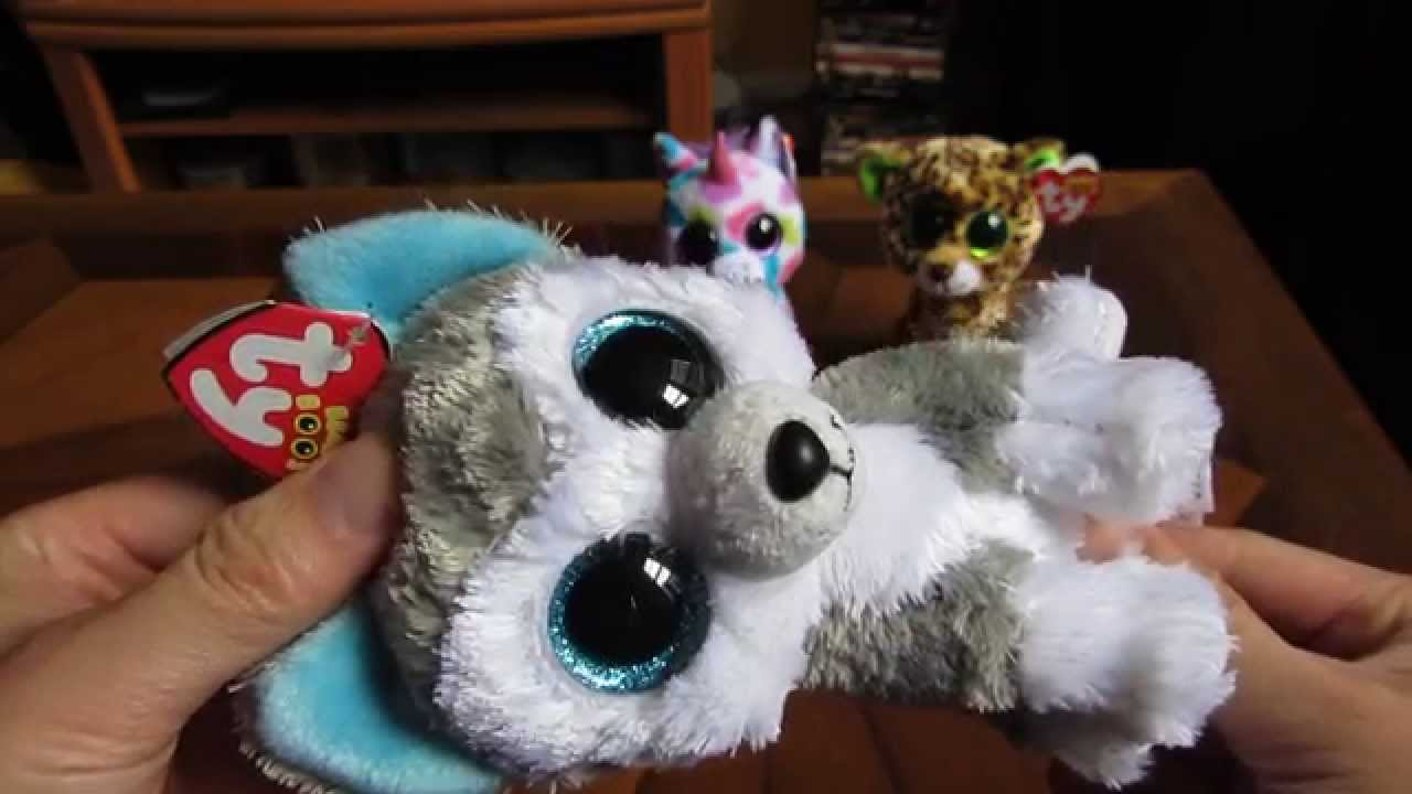 85a540171e7 Beanie Boos in HD - Slush the Husky Detailed Review Regular 5
