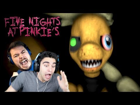 APPLEJACK JUMPSCARED US IN THE DARK!!! - Five Nights At Pinkie's (Part 2 - Feat. TheGameSalmon)