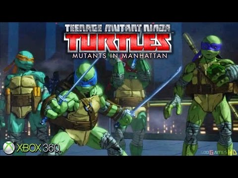 Teenage Mutant Ninja Turtles: Mutants in Manhattan - Xbox 360 / Ps3 Gameplay (2016)