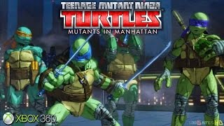 Teenage Mutant Ninja Turtles: Mutants in Manhattan - Xbox 360 / Ps3 Gameplay (2016)