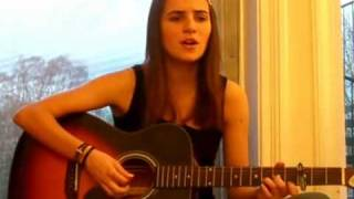 Savin Me - NickelBack - Acoustic Cover By Ana Free - My Favorite Flavor Is Rock!!