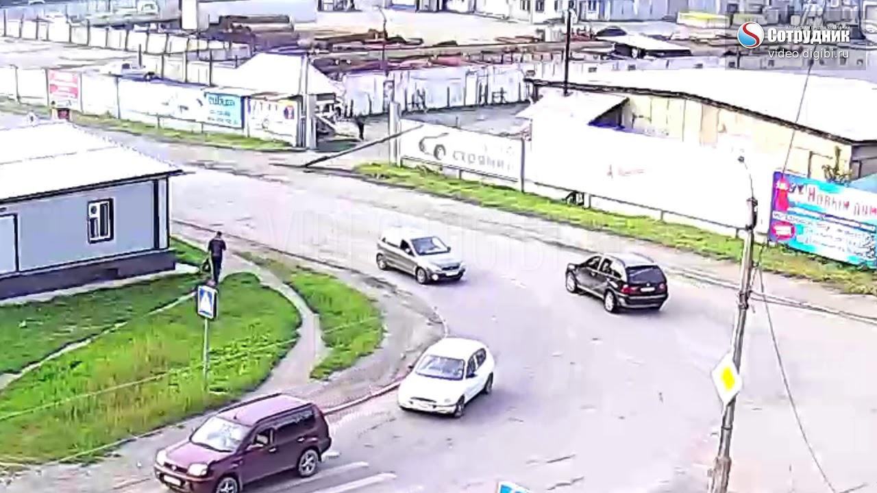 ДТП на перекрестке ул.  Короленко - Муромцевский 11.08.17