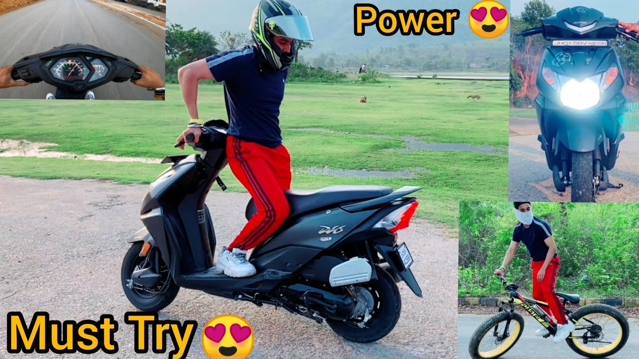 Learn This Trick || Increase Scooty Power || Fun with Cycle 😍