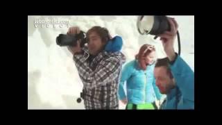 Repeat youtube video بطلة التزلج جاكي شمعون تتعرى في سوتشي روسيا