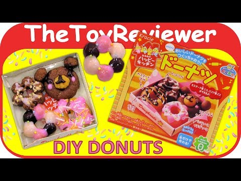 Thumbnail: Kracie Happy Kitchen Donut DIY Candy Kit Popin' Cookin' Japan Unboxing Toy Review by TheToyReviewer