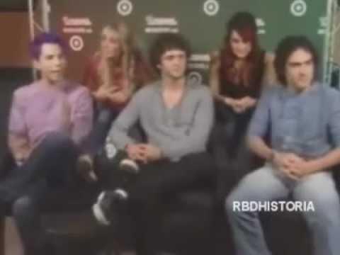 [2008] RBD En Univision En Un Chat [1/3]