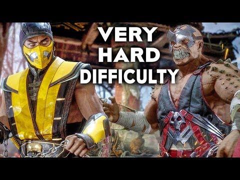 MORTAL KOMBAT 11 Gameplay Very Hard Difficulty Scorpion Vs Baraka thumbnail