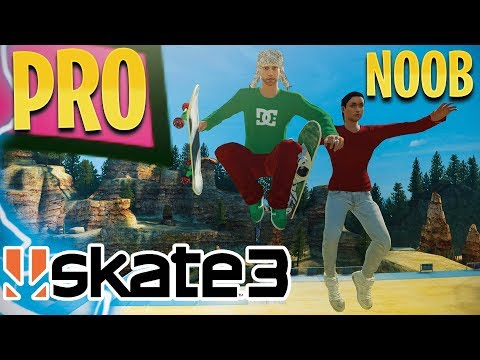Skate 3: Teaching NOOB How To Play