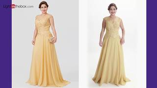 Top 10 Plus Size Mother of the Bride Dresses from LightInTheBox