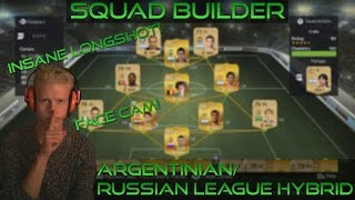 Squad Builder | Argentinian/ Russian League Hybrid - ft. SICK LONGSHOT! - FACE CAM Thumbnail