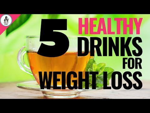 5-healthy-drinks-to-lose-weight-at-home!