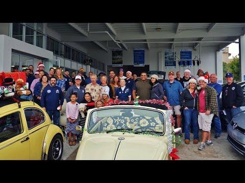 San Diego Air Cooled Vintage VW Christmas Cruise
