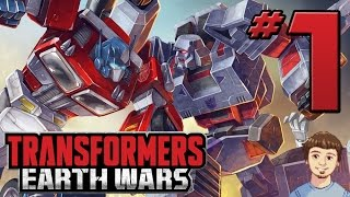 Transformers Earth Wars Gameplay - PART 1 - New RTS Transformers Game! (iOS, Android)