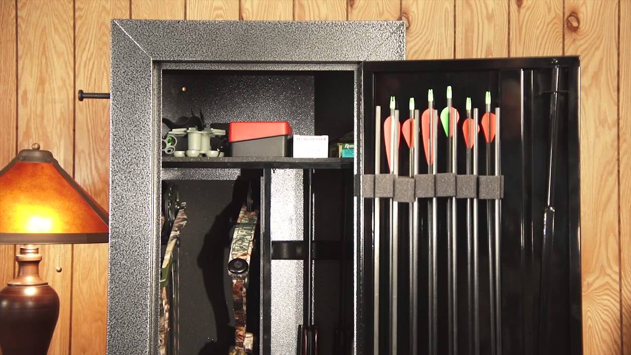 Stack-On Bow Cabinet 2013 - YouTube