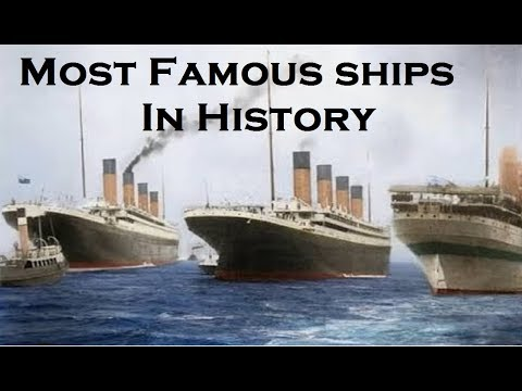 Most Famous Ships In History | Titanic's Sister Ships | Six Sisters |