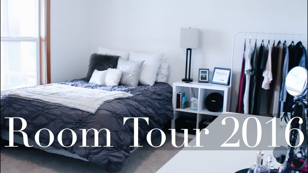 Journey to minimalism part one room tour 2016 youtube for Minimalist bedroom tour