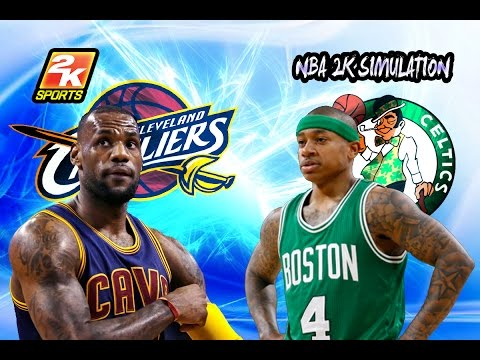 Cleveland Cavaliers vs Boston Celtics - Full game | April 5, 2017 | 2016-17 | NBA 2K17