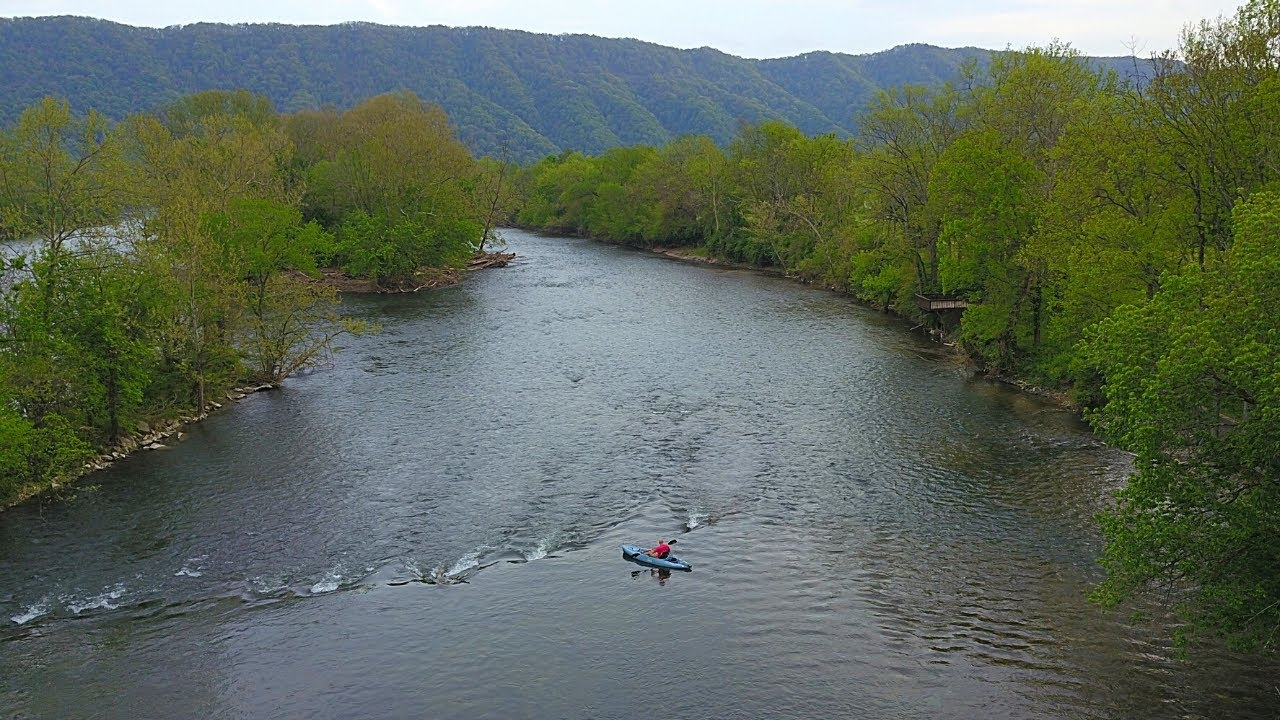 Floating n' Fishing a Wild River in the Mountains!