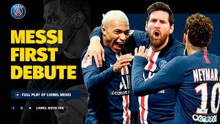 PSG vs Reims - Messi Debut for PSG | Free Clickbait Football Thumbnails