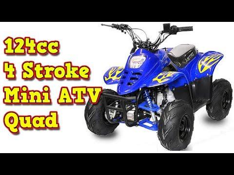 Bigfoot 125cc Midi Quad, Automatic + Reverse, Electric Start, 4 Stroke Engine