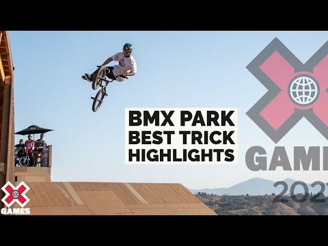 MIKE VARGA 1260! FRONT BIKE FLIP AT BMX PARK BEST TRICK | X Games 2021