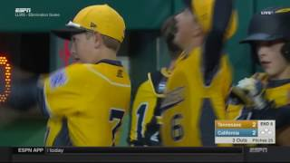 #LLWS16: Game 20 Highlight - Tennessee