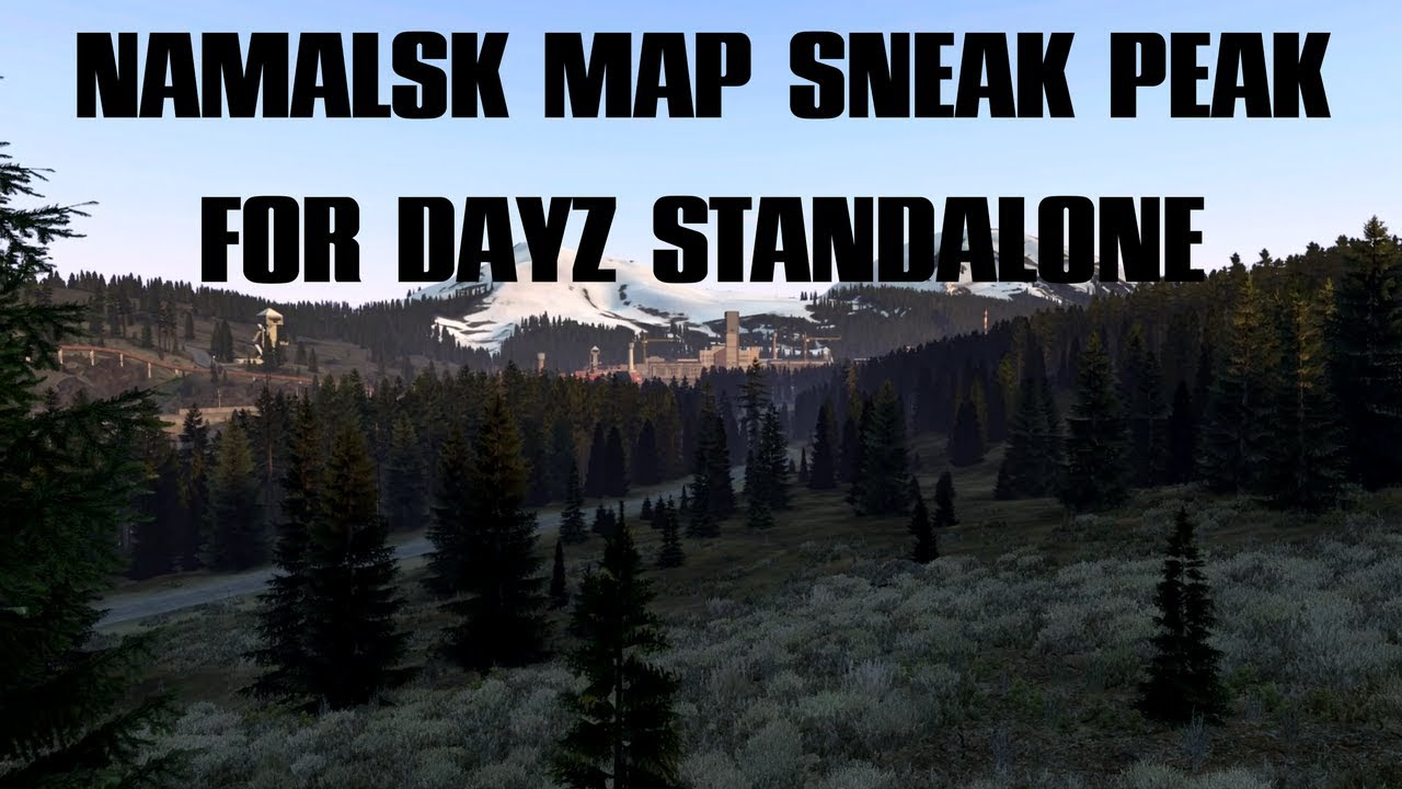 Sneak peak of the Namalsk Mod map for DayZ Standalone - Trailer only ...