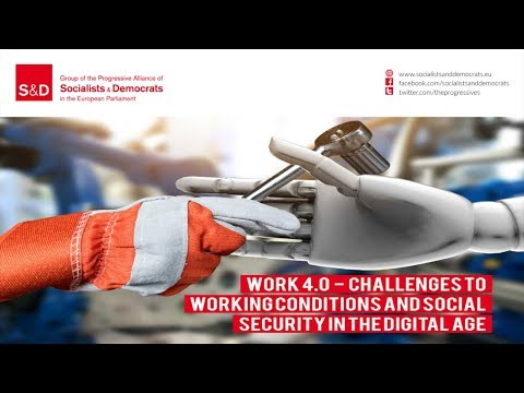 Work 4.0 – Challenges to working conditions and social security in the digital age - FR