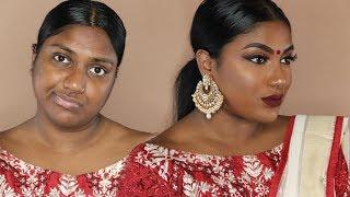 INDIAN / TAMIL GRWM : WEDDING GUEST BRONZY MAKEUP