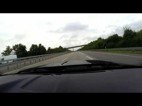 80 mph / 130 km/h on German Autobahn is like standing still ;)