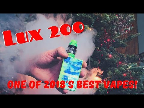 One Of My Favorites Vape Kits Of 2018: Coil Art Lux200 Kit | VapingWithThesis