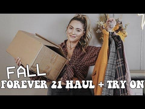 FALL FOREVER 21 HAUL + TRY ON || Noel Labb