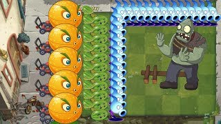 Plants vs zombies 2 - Shadow Peashooter and Melon Pult