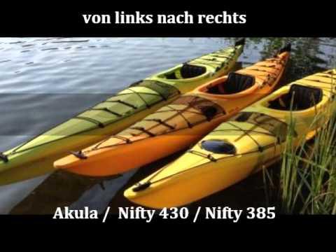 Download Deutsche Wassersport Union präsentiert Seekajaks Delsyk Design Nifty 385, Nifty 430, Akula