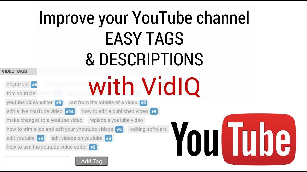 Youtube com tag editor