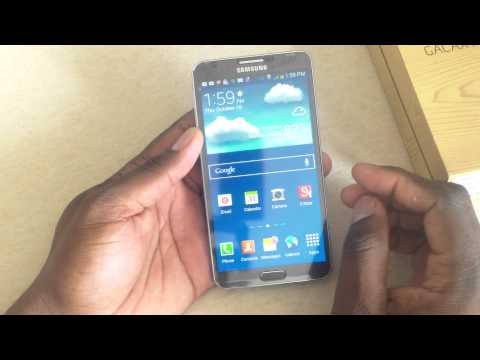 Official T-Mobile Samsung Galaxy Note 3 unboxing & hands on.