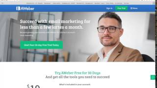 aweber vs mailchimp email marketing
