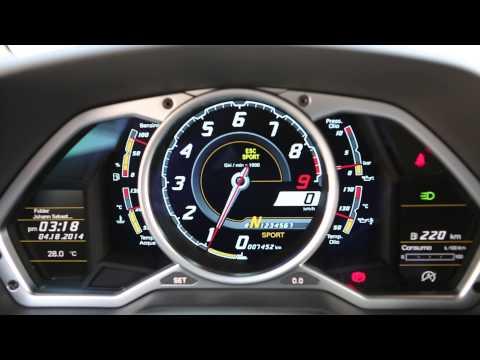 [KETOSI] Lamborghini Aventador Start up, Rev, RPM Movement, Exhaust Sound