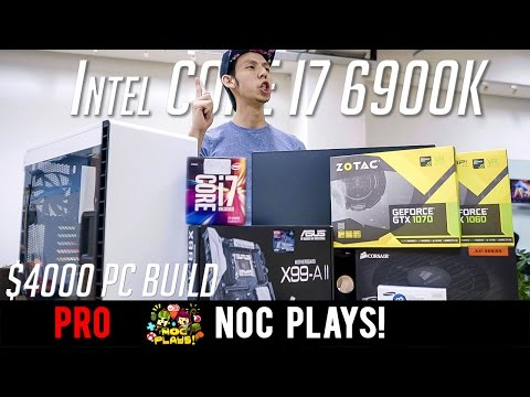 NOC Tech Builds $4,000 Gaming and Editing PC
